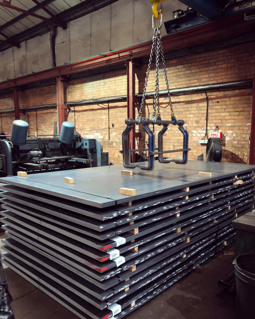 Prime S275 structural steel